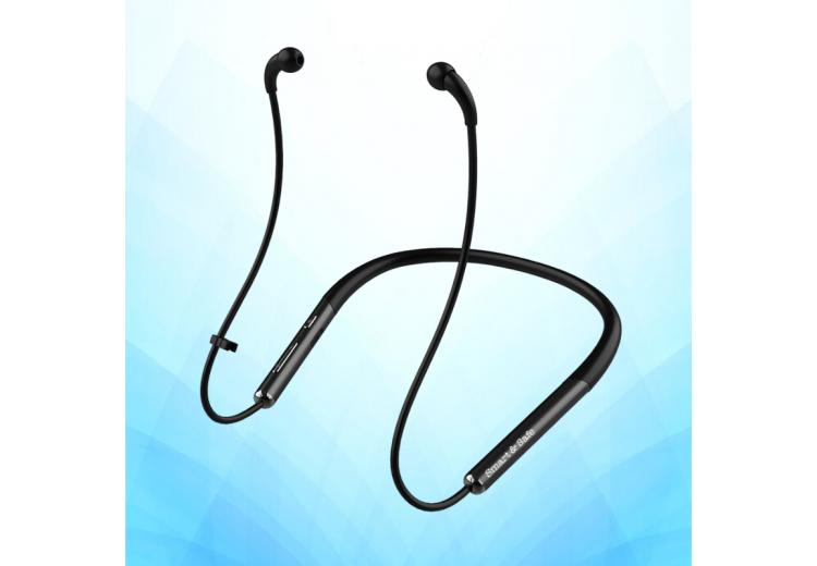AIRobic fekete színű, Smart&Safe® Sport levegőcső fülhallgató