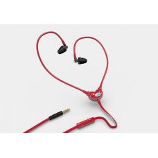 Piros színű, Smart&Safe® levegőcső fülhallgató