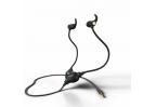 ProTubeZ® fekete színű, Smart&Safe® levegőcső fülhallgató