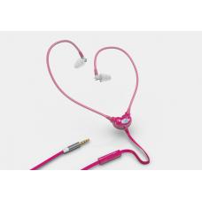 Rózsaszín színű, Smart&Safe® levegőcső fülhallgató