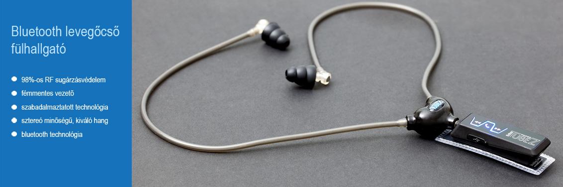 Bluetooth levegőcső fülhallgató