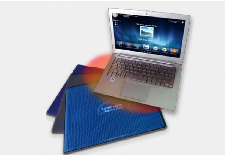 ProShield™ sugárzásmentes  laptop tálca